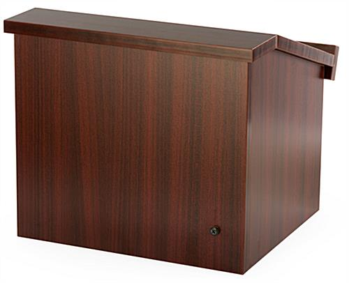 Collapsible Countertop Podium is a Great Tool For Conference Rooms