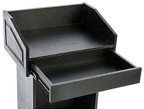 Restaurant Host Stand 1 Storage Shelf Amp Drawer