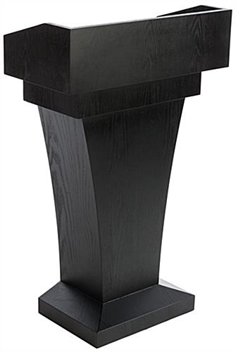 Restaurant Entrance Podium is the Ideal Height for Most Presentor's