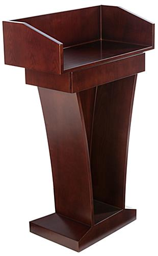 Hotel Podium has Melamine Laminate