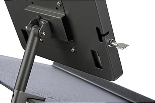 Locking Black iPad Lecture Podium