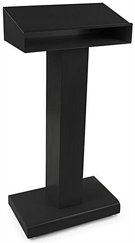 Steel Speech Stand with Leveling Feet