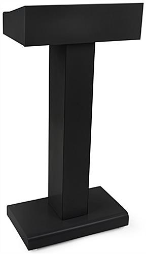 Black Steel Speech Stand