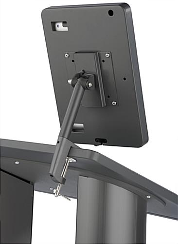 Rotating & Tilting iPad Rostrum