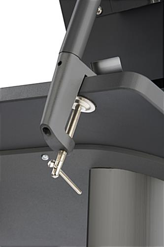 iPad Rostrum with Clamping Base