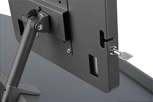 Locking iPad Rostrum