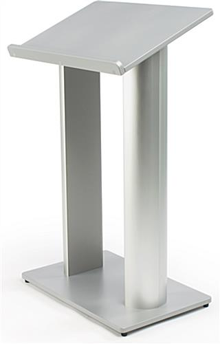 43.5in Tall Podium with iPad Mount