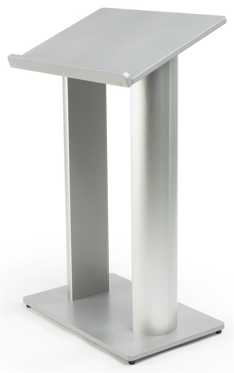 Booths For Sale >> Contemporary Speaker Podium - Silver