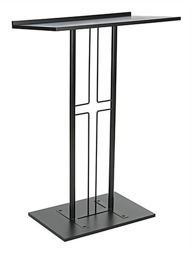 Shaped Cross Podium