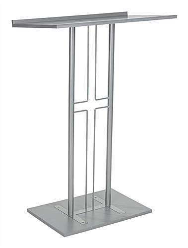 Steel Cross Pulpit