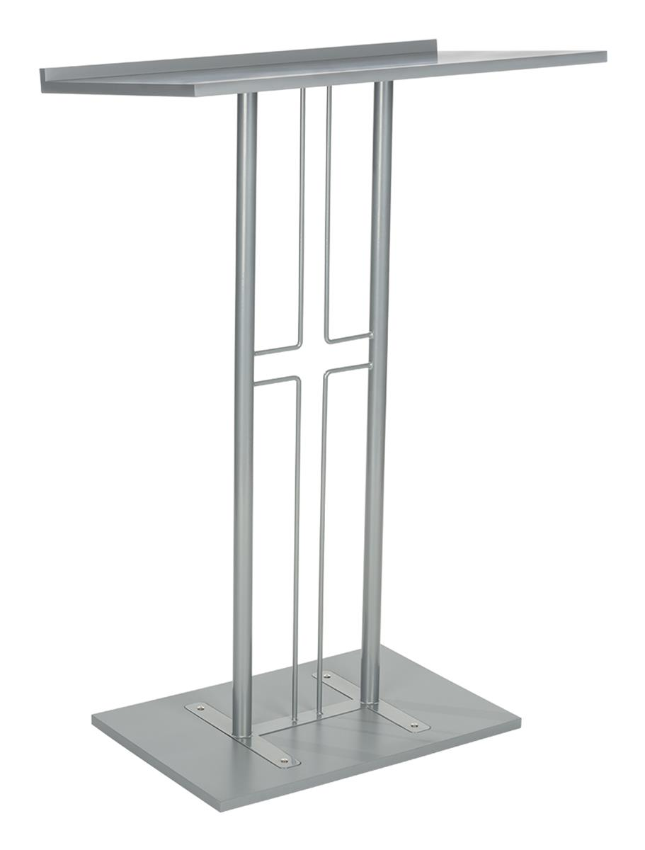 Cross Pulpit Steel And Mdf Construction