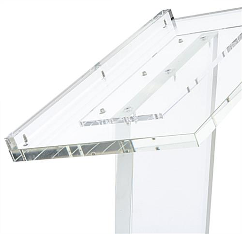 Acrylic Lectern Podium is Ideal for Any Conference Room