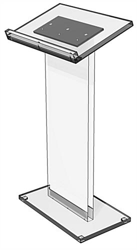 Acrylic Lectern Podium is Made in House