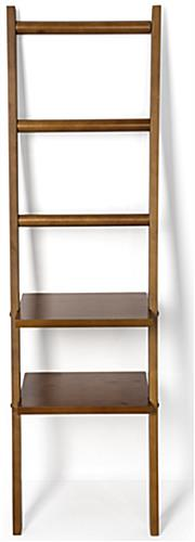 Modern Leaning Ladder Rack Shelving