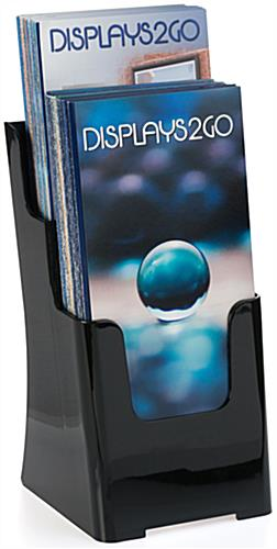 2 Step Plastic Publication Holder for Brochures