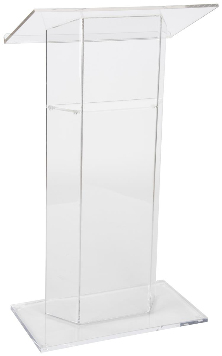 Clear Podium See Through Acrylic Lectern