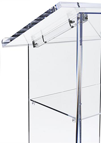 Acrylic Lectern with Knock Down Design