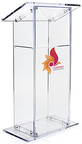 Acrylic Branded Lectern