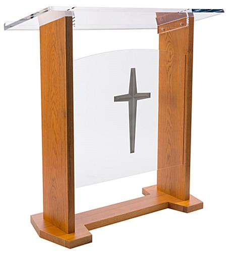 Wide Church Podium