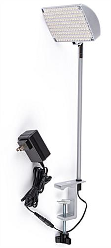 Clamp on LED spotlight with 20000 life hours