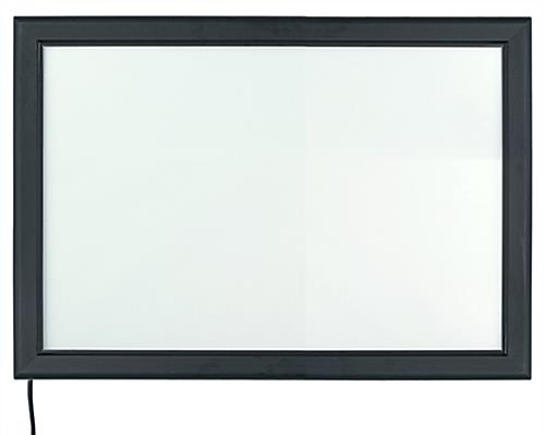"Dual-Orientation 24"" x 36"" LED Backlit Frame"