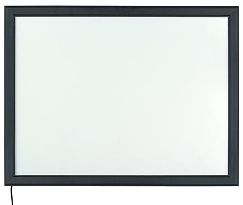 Energy Efficient Slim LED Poster Display
