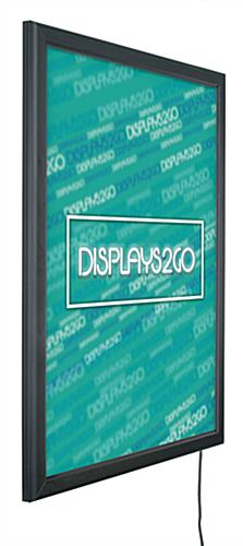 Single-Sided Slim LED Poster Display