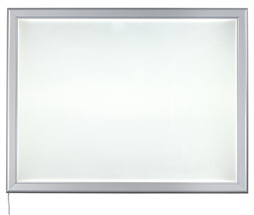 "36"" x 48"" Illuminated Poster Frame for Indoor Use"