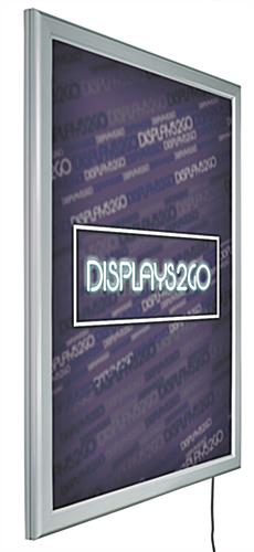 "36"" x 48"" Illuminated Poster Frame with LED Bulbs"