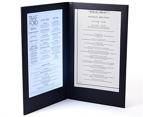 Illuminated Menu