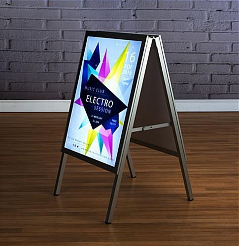 Led Sidewalk Sign Lithium Ion Battery