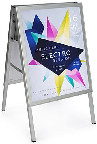 "LED Sidewalk Sign for 22"" x 28"" Posters"