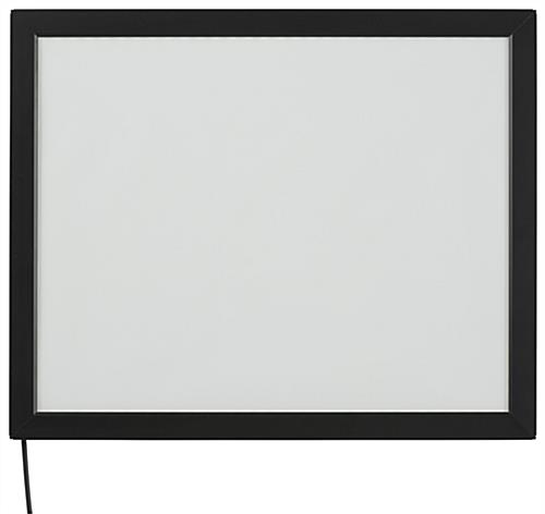 Portrait or Landscape Black 16 x 20 Light Box Display