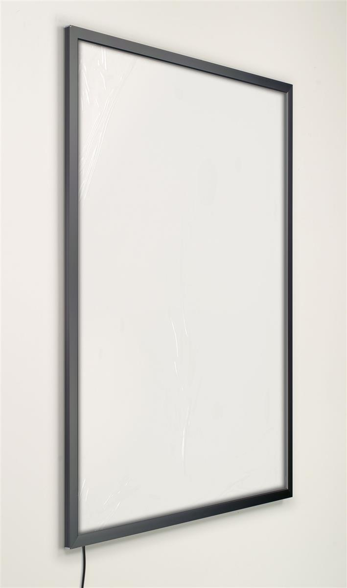 This Poster Frame Is Designed To Hold 22 X 28 Graphics The Wall Mounted Slim Light Box Can Be Mounted Both Vertically Horizontally This Poster Frame Is An Economic Choice