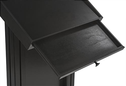 LED Podium with Pull Out Drawer