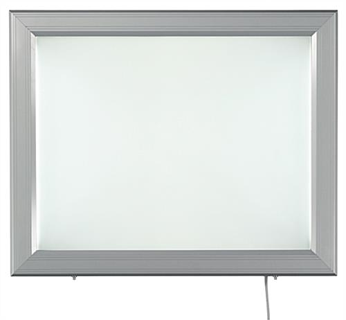 Energy-Efficient Swing-Open LED Poster Frame