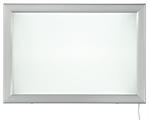 "Wall-Mounted 24"" x 36"" LED Outdoor Light Box"
