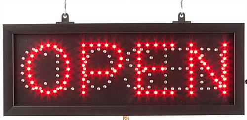 LED Open/Closed Sign For Business