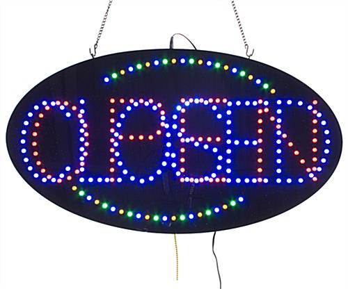 Open LED Signs: Last Up To 100,000 Hours