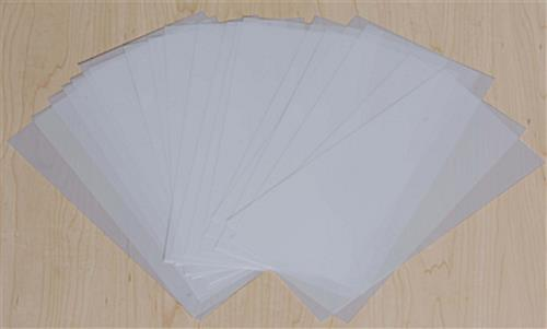 "Used Restaurant Booths For Sale >> 5-1/2"" x 11"" Frosted Film Paper - For Use With LED Menu Series"