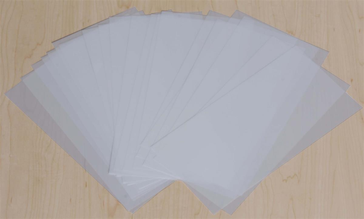 512quot x 11quot frosted film paper for use with led menu series