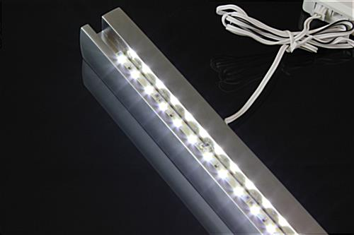 Light Up Wall Name Plate Aluminum