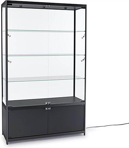 LED Retail Display Cabinet, Aluminum Frame