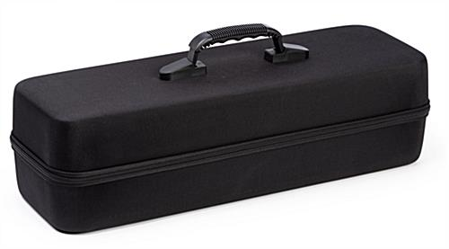 20 inch wide covered hard travel case for lighting