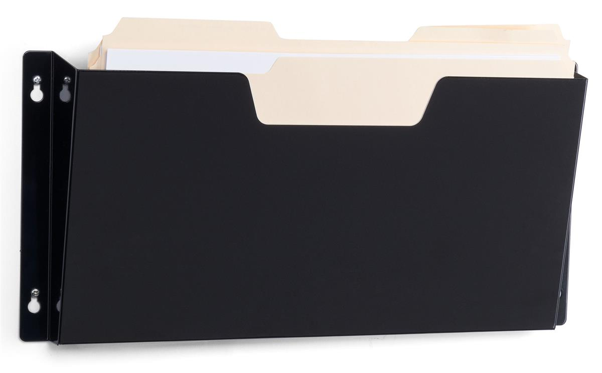 Legal Size Wall File Single Mounted Pocket