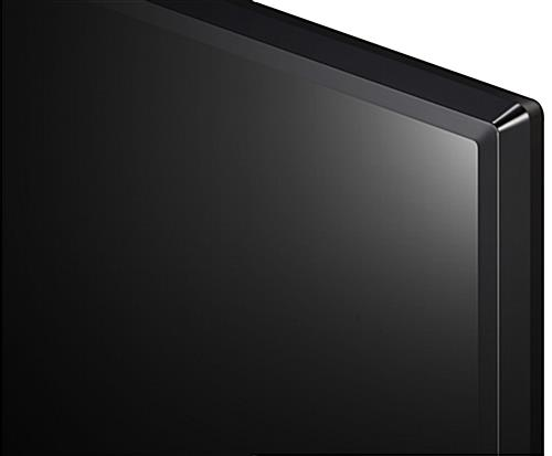 49 inch digital signage TV with sleek ceramic black finish