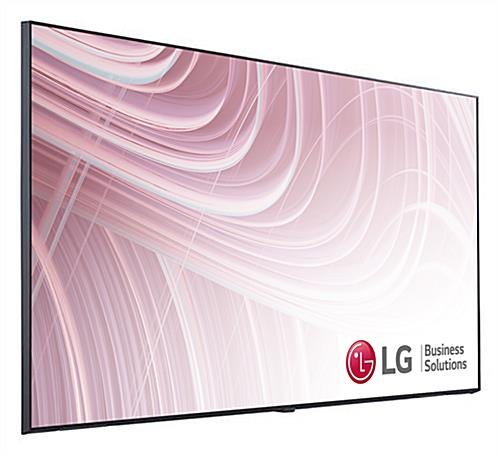 4K commercial display with 55 inch screen