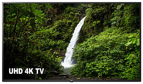 4k SuperSign TV with wall mounting capabilities