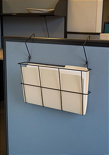 Cubicle Wall File is Great for Holding Manila Folders