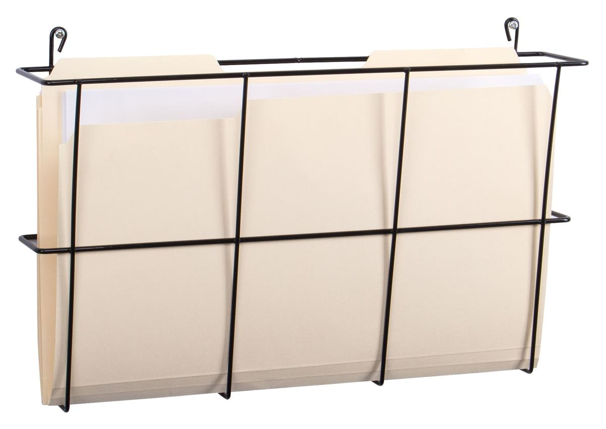 Cubicle Wall File Steel Wire Construction Black